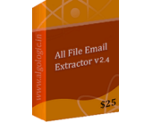 All File Email Address Extractor (5 Years License) Vouchers