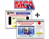 Motor Club of America MCA Opportunity Site + Capture Page (Shorter) ~ Monthly Subscription