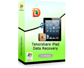$5 Discount Tenorshare iPad 1 Data Recovery for Windows Voucher Code