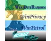 Ultimate Bundle Single user license for WinAntiRansom WinPatrol and WinPrivacy Subscription