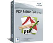 Enjoy 50% Wondershare PDF Editor Pro for Mac Voucher