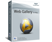 Wondershare Web Gallery for Mac