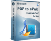 iStonsoft PDF to ePub Converter for Mac