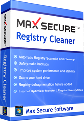 Max Secure Registry Cleaner
