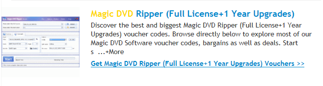 Magic DVD Ripper 1 Year