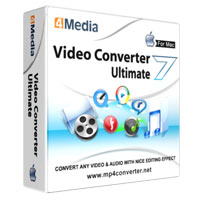 40% Savings for 4Media Video Converter Ultimate 7 for Mac Voucher Code