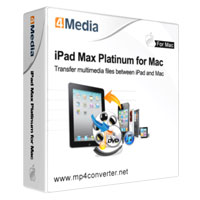 4Media iPad Max Platinum for Mac 40% Voucher