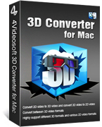 4Videosoft 3D Converter for Mac 90% Voucher