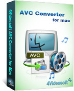 4Videosoft AVC Converter for Mac Voucher Discount