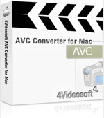 90% voucher 4Videosoft AVC Converter for Mac