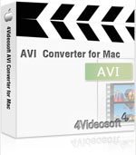 Receive 90% 4Videosoft AVI Converter for Mac Voucher