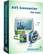 4Videosoft AVI Converter for Mac Voucher Discount - SPECIAL
