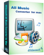 4Videosoft Studio, 4Videosoft All Music Converter for Mac Voucher Sale