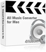90% Deal for 4Videosoft All Music Converter for Mac