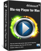 90% Voucher for 4Videosoft Blu-ray Player for Mac