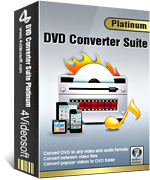 4Videosoft DVD Converter Suite Platinum 90% Savings