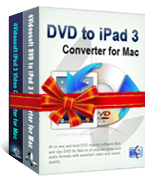 4Videosoft DVD to iPad 3 Suite for Mac Discount Voucher