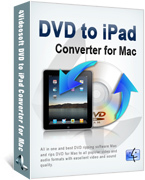 4Videosoft Studio, 4Videosoft DVD to iPad Converter for Mac Voucher Code