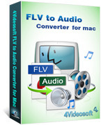 4Videosoft FLV to Audio Converter for Mac Voucher Code Discount