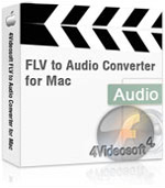 90% off 4Videosoft FLV to Audio Converter for Mac
