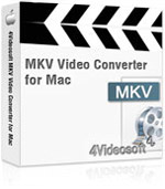90% Discount 4Videosoft MKV Video Converter for Mac Voucher