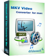 4Videosoft MKV Video Converter for Mac Voucher - SPECIAL