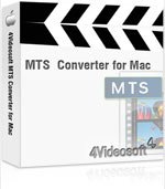 Get 90% 4Videosoft MTS Converter for Mac Discount