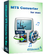 4Videosoft MTS Converter for Mac Voucher Code Discount