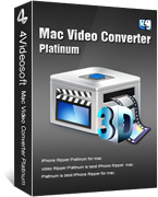 4Videosoft Mac Video Converter Platinum Voucher Discount