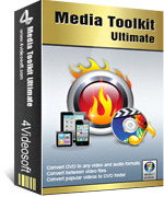 4Videosoft Media Toolkit Ultimate Discount Voucher - Instant Deal