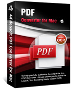 90% Discount 4Videosoft PDF Converter for Mac