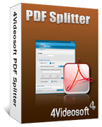 90% Discount for 4Videosoft PDF Splitter Voucher