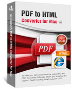 4Videosoft PDF to HTML Converter for Mac Sale Voucher