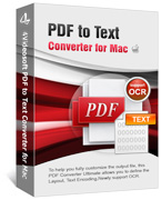 90% 4Videosoft PDF to Text Converter for Mac Discount