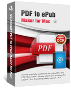 4Videosoft PDF to ePub Maker for Mac Voucher Discount