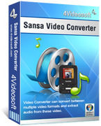 4Videosoft Sansa Video Converter Voucher Code Discount
