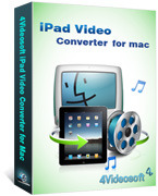 4Videosoft iPad Video Converter for Mac Discount Voucher
