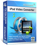4Videosoft iPad Video Converter Voucher - SPECIAL