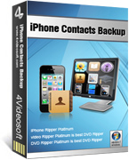 4Videosoft iPhone Contacts Backup Voucher Discount