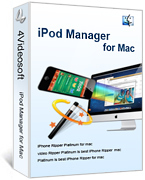 4Videosoft iPod Manager for Mac Voucher Discount