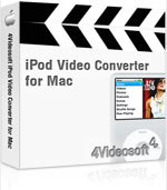 90% 4Videosoft iPod Video Converter for Mac Savings