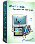 4Videosoft iPod Video Converter for Mac Voucher Sale