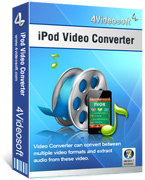 4Videosoft iPod Video Converter Discount Voucher