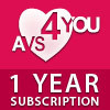 AVS4YOU One Year Subscription Voucher - Instant Discount