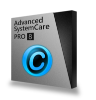 Advanced SystemCare 8 PRO with Gift Pack - IU+AMC Voucher - Instant 15% Off