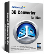 Aiseesoft 3D Converter for Mac Discount Voucher