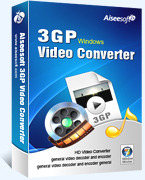 15 Percent Aiseesoft 3GP Video Converter Voucher Code