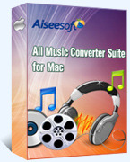 Aiseesoft All Music Converter Suite for Mac Voucher Deal - Exclusive