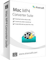 15% Off Aiseesoft Mac MP4 Converter Suite Sale Voucher