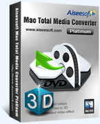 Receive 40% Aiseesoft Mac Total Media Converter Platinum Discount